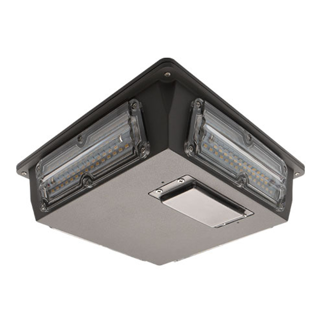 Square 60 Watt LED Parking Garage Light