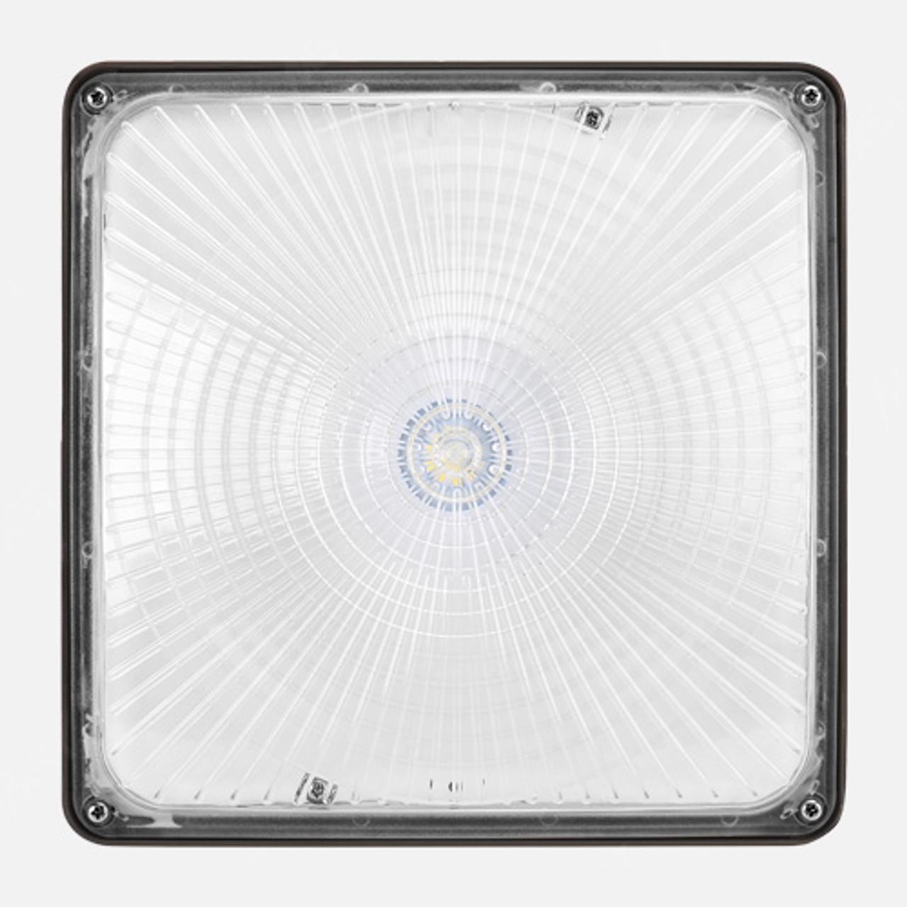 40 Watt LED Canopy Light Front