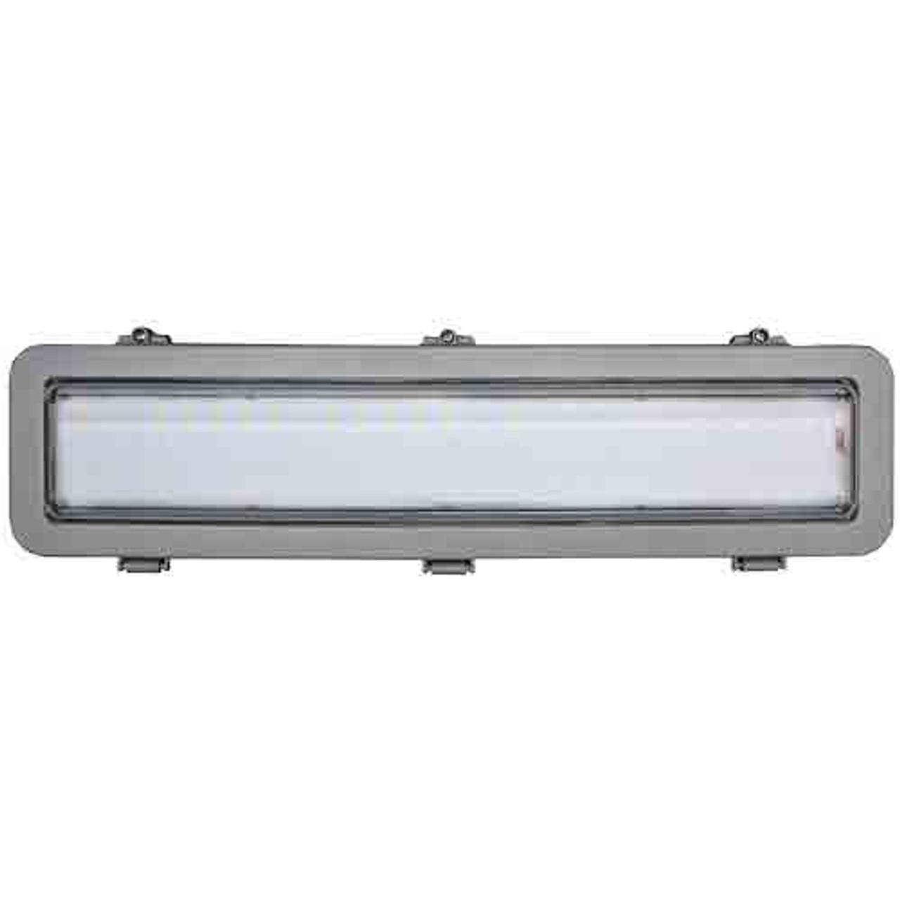 """66 Watt LED Explosion Proof Open Hood Linear Light 24"""""""