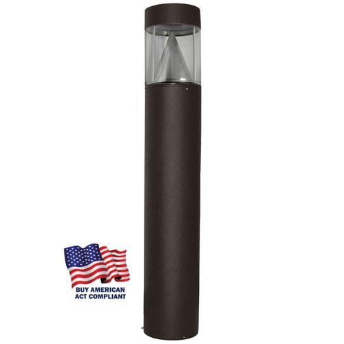 Bollard Light Flat Top Cone Reflector 15 Watt LED