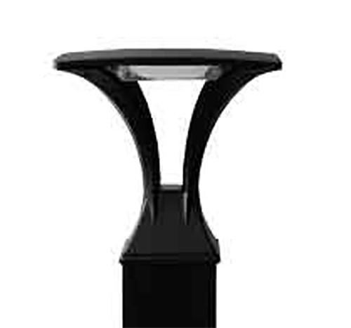 16 Watt LED Reveal Square Bollard Top Veiw