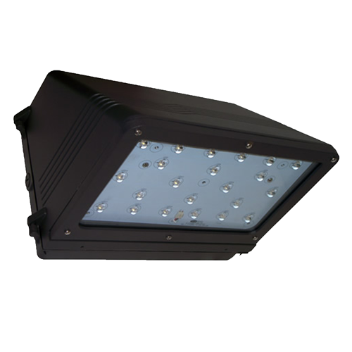 37 Watt LED Medium Full Cutoff Wall Pack Bottom View
