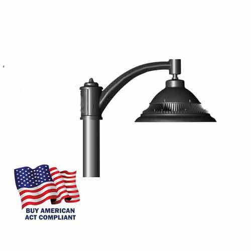 Single Pendant 84 Watt LED Decorative Pole Mounted Street Light