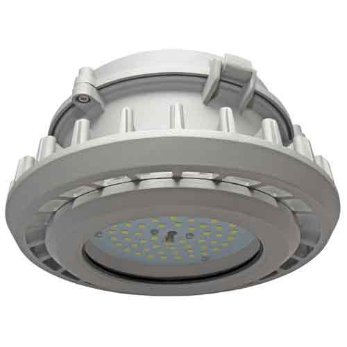 Explosion Proof Pendant Mount Luminaire 57 Watt