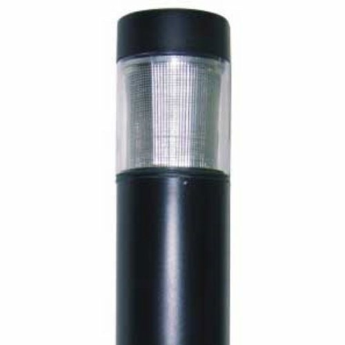 "7"" Round Flat Top Bollard with Type 3 Glass"
