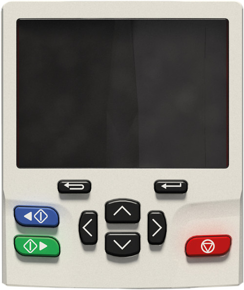 KI-KEYPAD-LCD Plain text, multi-language LCD keypad with up to 4 lines of text for in depth parameter and data descriptions, for enhanced user experience