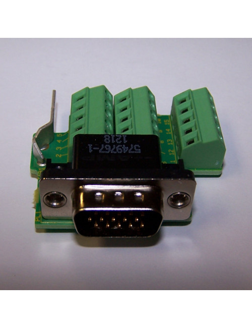 SM-ETC  DB-15 to terminal breakout board for encoder feedback cable