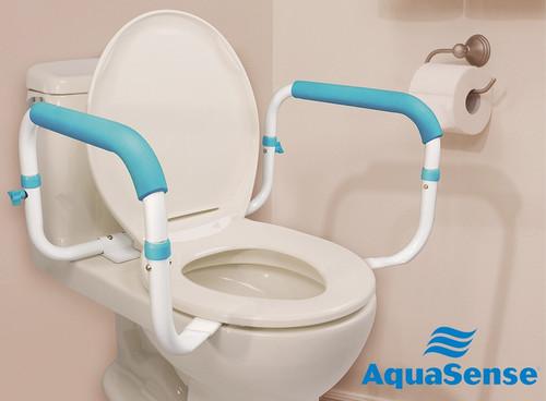 Toilet Safety Rails.