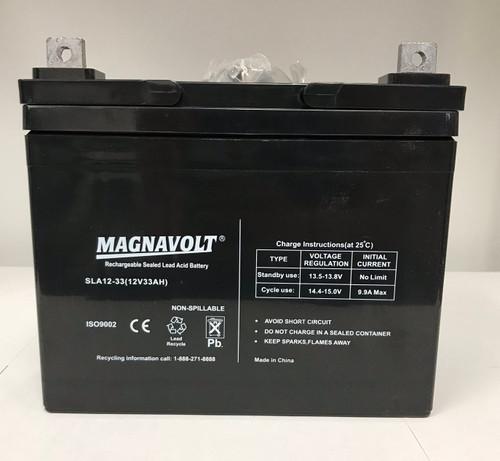 33a/h battery.