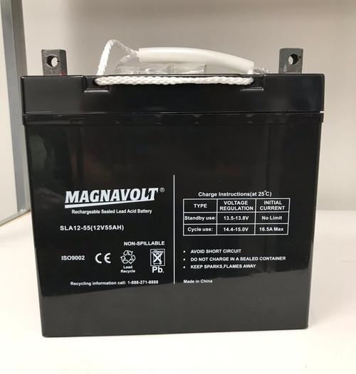 55a/h battery.