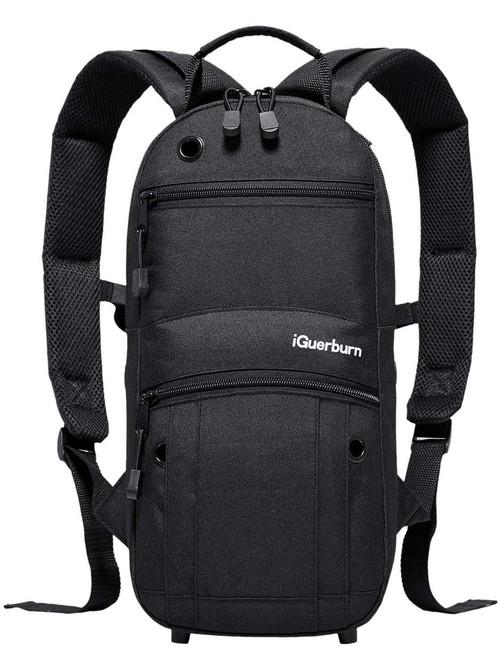 Oxygen Tank Backpack, Black