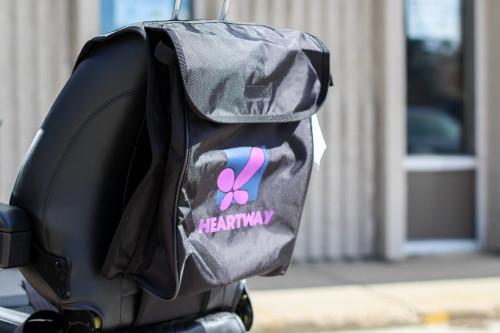 Heartway backrest bag.