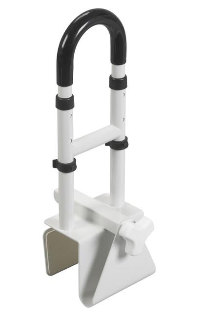 Adjustable Height Bathtub Grab Safety Rail