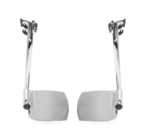 front rigging for sentra ec heavy duty extra wide, swing away footrests