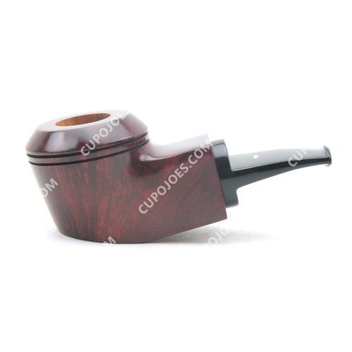 Caminetto Group 05-35 Smooth Quadrato Reverse Calabash Pipe
