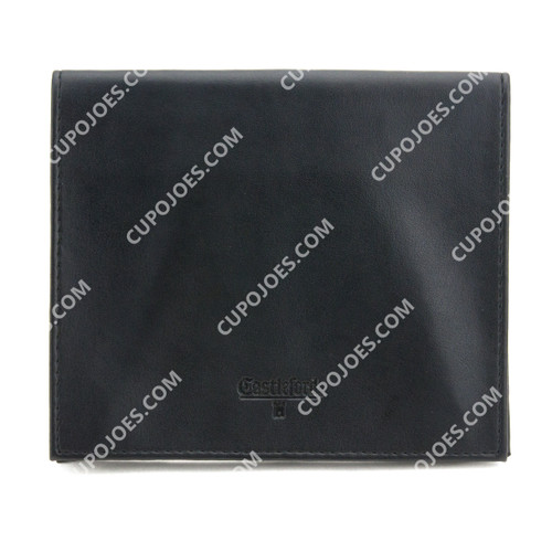 Castleford Black Vinyl Roll Up Pouch