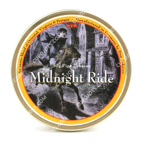 Dan Tobacco Midnight Ride 50g Tin