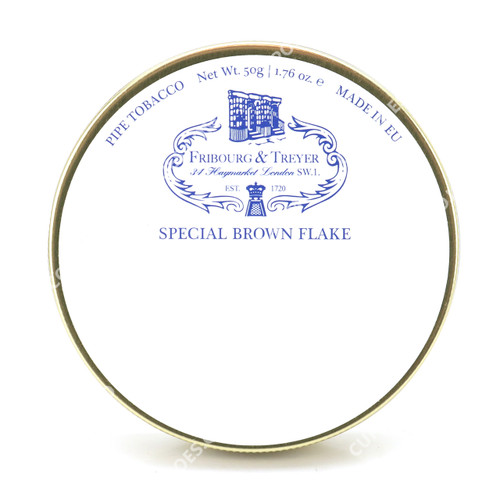 Fribourg & Treyer Special Brown Flake 50g Tin