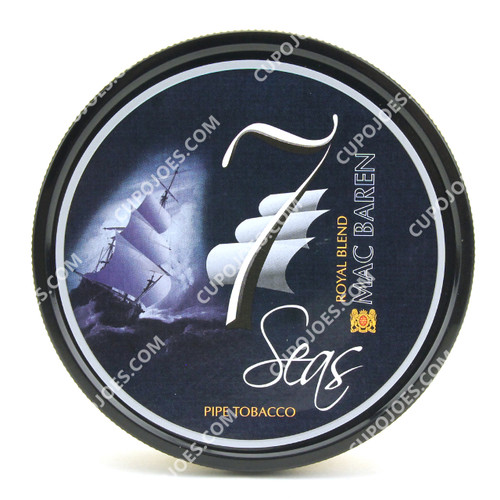 Mac Baren 7 Seas Royal Blend 3.5 Oz Tin
