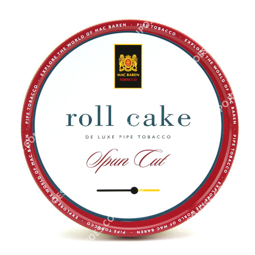 Mac Baren Roll Cake Spun Cut 3.5 Oz Tin