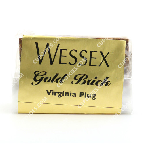 Wessex Gold Brick Virginia Plug 100g Brick