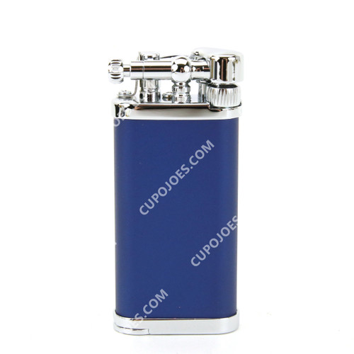 Corona Old Boy Pipe Lighter Blue/Chrome #643109