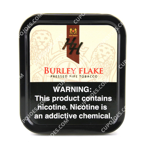 Mac Baren HH Burley Flake 3.5 Oz Tin