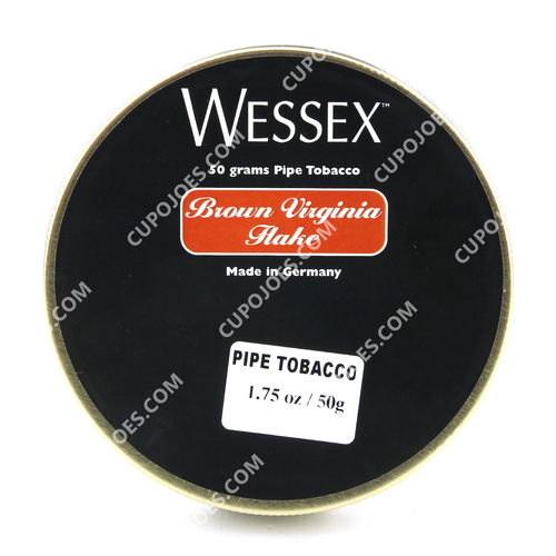 Wessex Brown Virginia Flake 1.75 Oz Tin