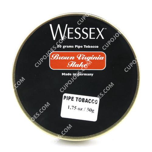 Wessex Brown Virginia Flake 1.75 Oz Tin
