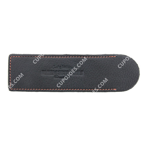 Erik Stokkebye 4th Generation Leather Pipe Cleaner Sleeve Black