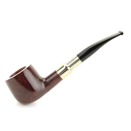 Savinelli Spigot Sterling Bordeaux Pipe #122