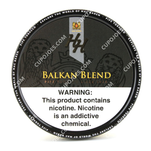 Mac Baren HH Balkan Blend 3.5 Oz Tin
