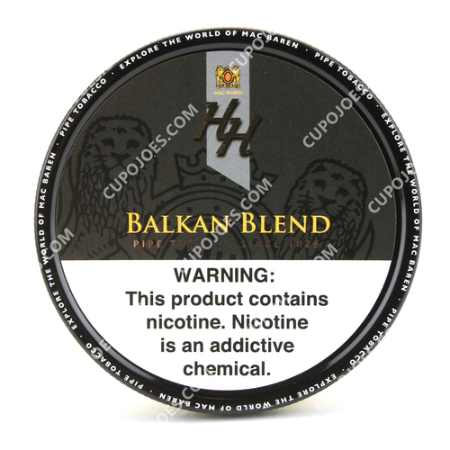 Mac Baren HH Balkan Blend 3.5 Oz Tin