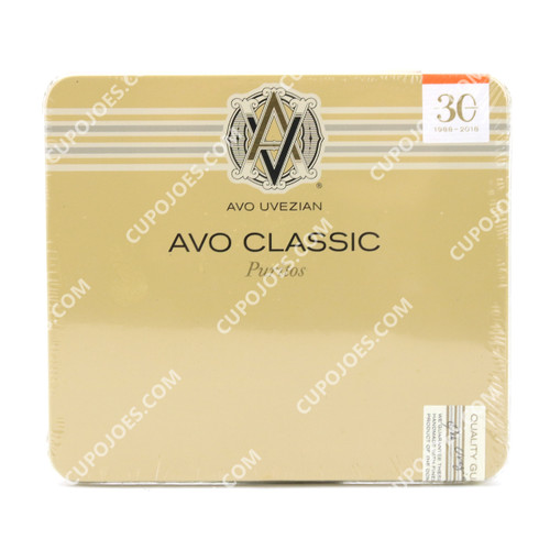 Avo Classic Puritos Tin of 10