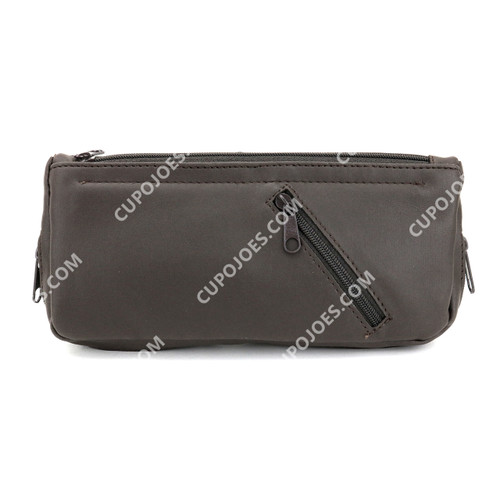 James Norman 2 Pipe Combo Pouch Brown