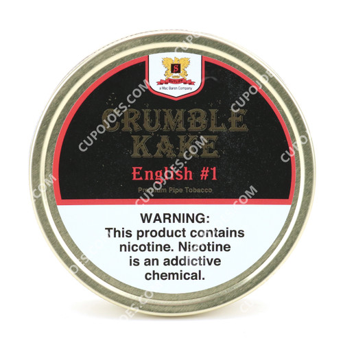 Mac Baren Crumble Kake English #1 1.5 Oz Tin
