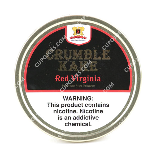 Mac Baren Crumble Kake Red Virginia 1.5 Oz Tin