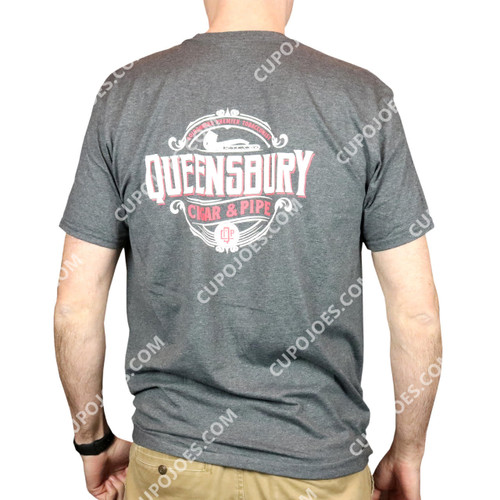 Queensbury Cigar & Pipe T-Shirt Large