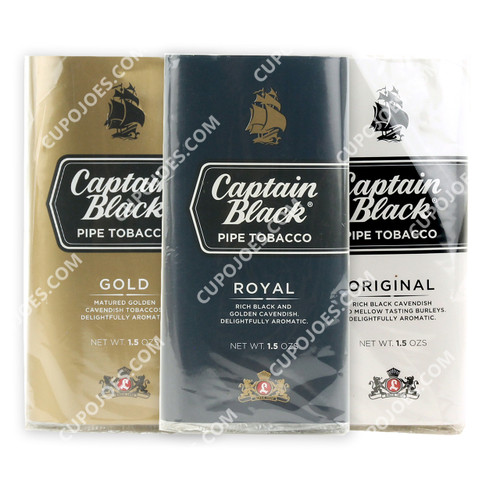 Captain Black 3 Pouch Sampler