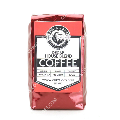 Cup O' Joes Decaf House Blend Coffee 12 Oz. (913030804012)