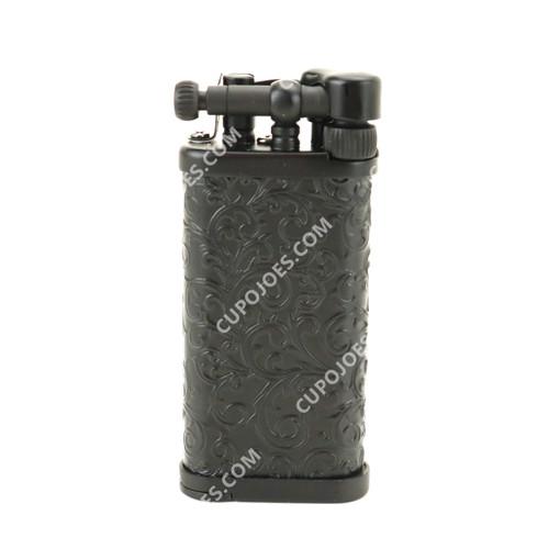Corona Old Boy Arabesque Black Pipe Lighter #649525