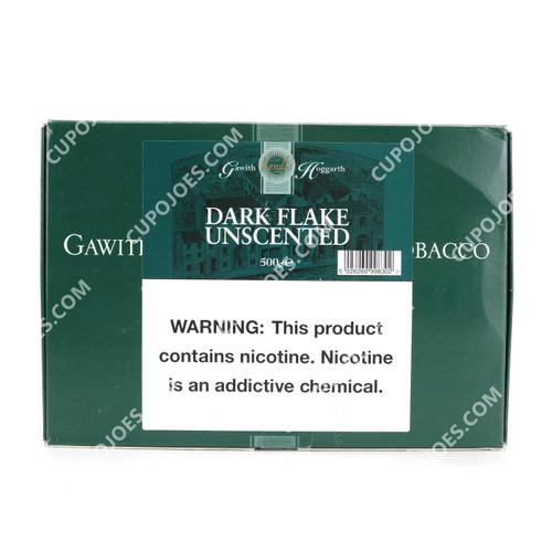 Gawith, Hoggarth & Co. Dark Flake Unscented 500g Box