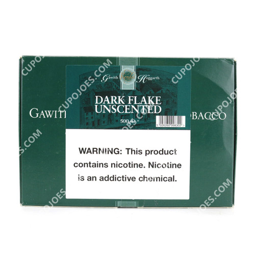 Gawith, Hoggarth & Co. Dark Flake Unscented 500g Box