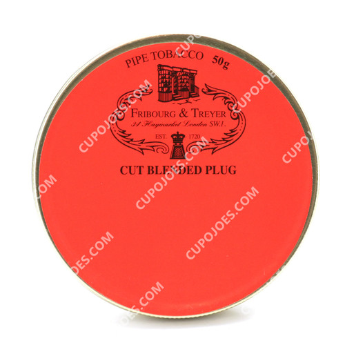 Fribourg & Treyer Cut Blended Plug 50g Tin