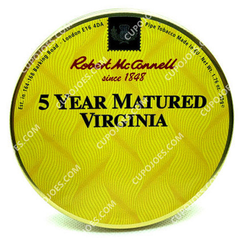 Robert McConnell 5 Year Matured Virginia 50g Tin