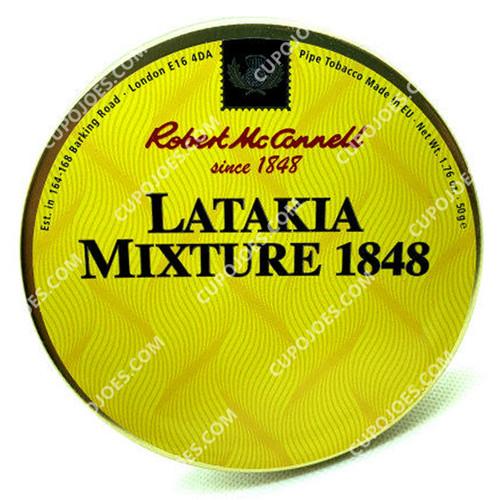 Robert McConnell Latakia Mixture 1848 50g Tin