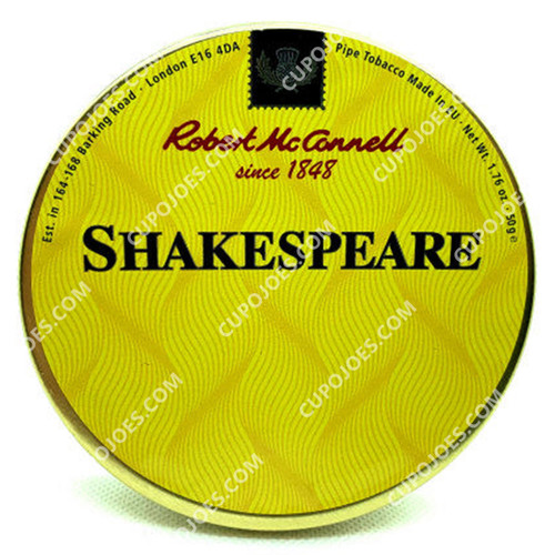 Robert McConnell Shakespeare 50g Tin