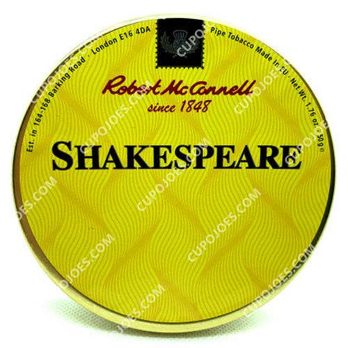 Robert McConnell Shakespeare 50g Tin
