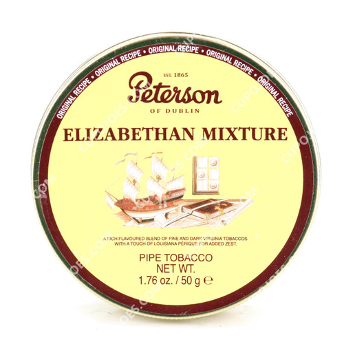 Peterson Elizabethan Mixture 50g Tin