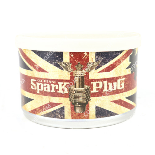 G.L. Pease Spark Plug 2 Oz Tin